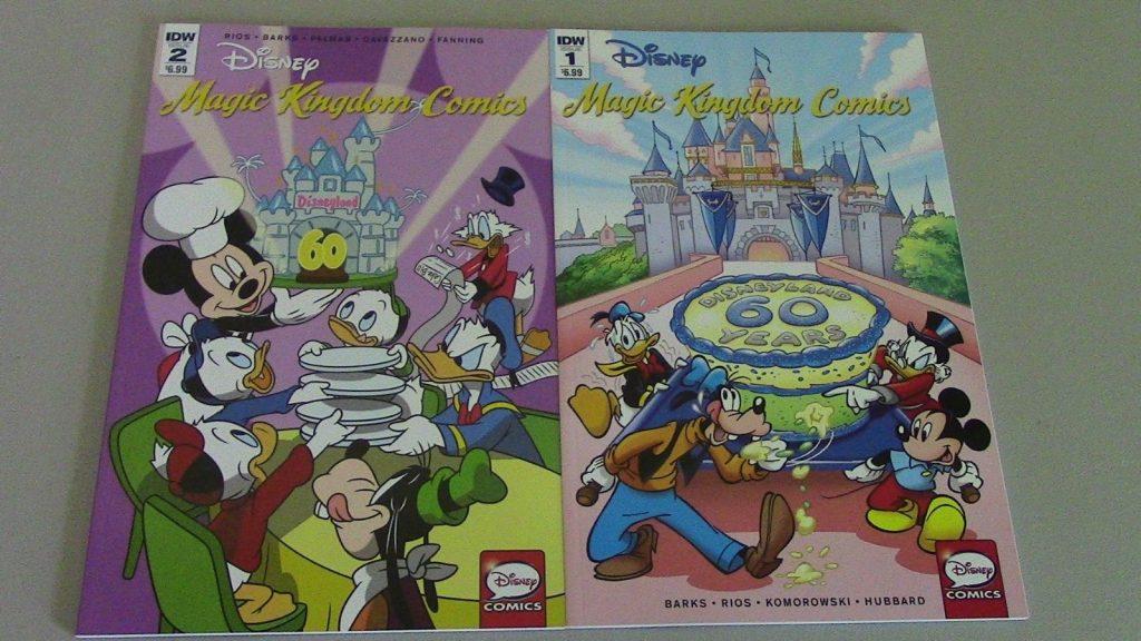 Disney Magic Kingdom Comics #1 - #2 IDW NM Cond. 1
