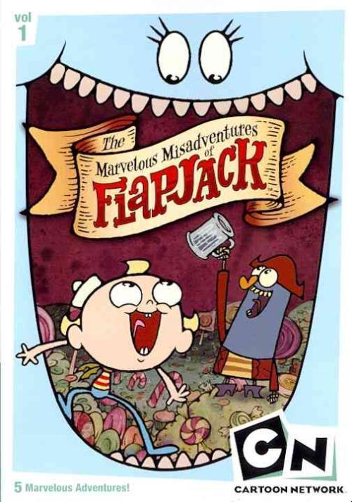 CARTOON NETWORK: THE MARVELOUS MISADVENTURES OF FLAPJACK - VOLUME 1 NEW DVD 1