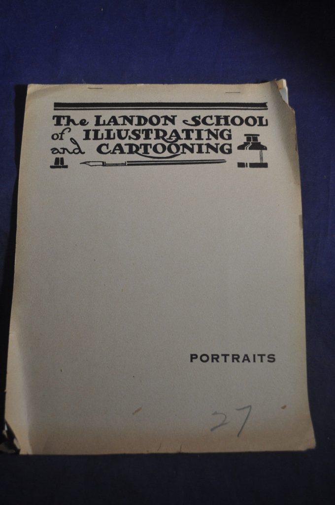 Ca 1918 *RARE EARLY* The Landon School of Illustrating & Cartooning, Portrai... 1