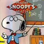 Master Snoopy's Math + Manual MAC Peanuts cartoon 3 math kids fun darts games 2