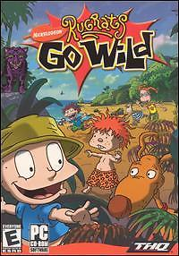 Rugrats Go Wild PC CD cartoon vacation marooned jungle adventure animal game! 1