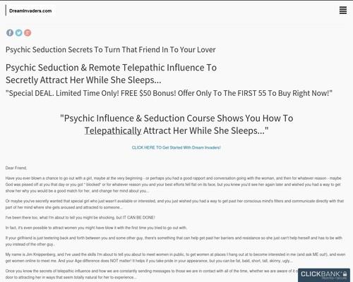 Psychic Seduction Secrets 1