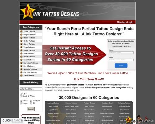 LA Ink Tattoo Designs ::: Largest Tattoo Collection on Internet ::: LAInkTattooDesigns.com 1