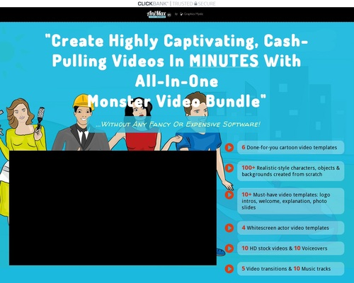 Cartoon Video Templates To Boost Your Sales Page 1