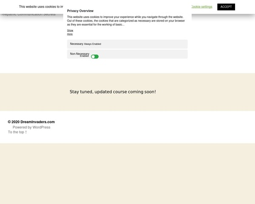 DreamInvaders.com – Telepathic Communication Secrets 1