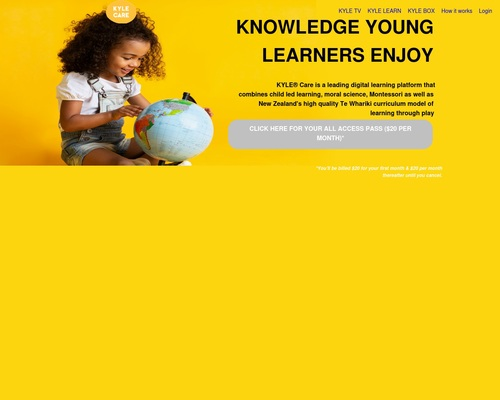 KYLE® Care - Knowledge Young Learners Enjoy | KYLE Care 2
