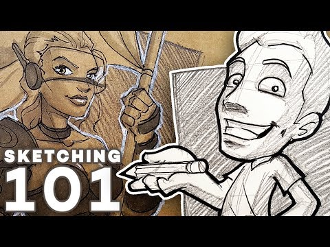 How to SKETCH Like a PRO! - Tools, Tips and Tricks! 1