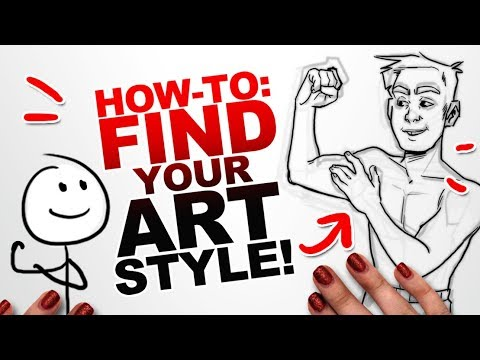 5 STEPS TO IMPROVE YOUR ART! | How to Develop Your Art Style | Beginner Art Tips 1