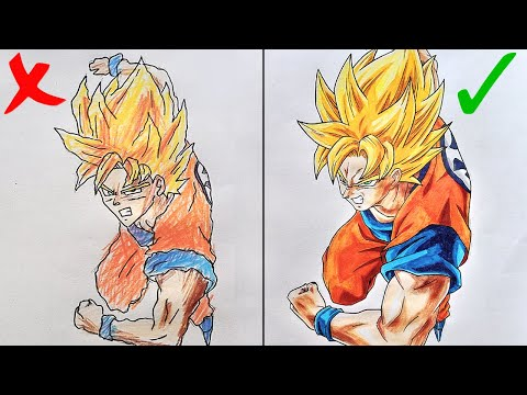 10 TIPS & TRICKS TO IMPROVE YOUR DRAWING   The Fastest Way To Get Better At Drawing! 1