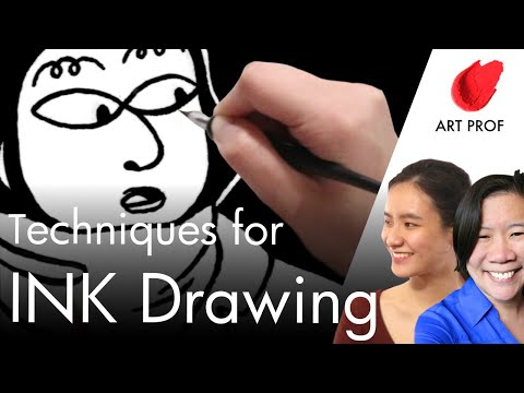 DIP & QUILL Pen Inking: Tips for Drawing 1