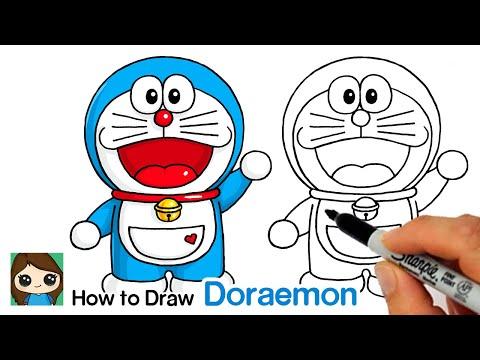 How to Draw Doraemon Easy 1