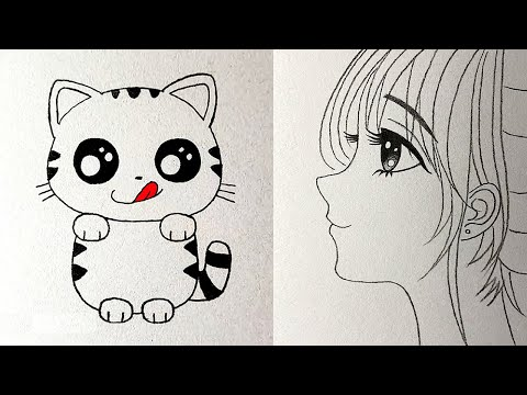 EASY DRAWING TRICKS. SIMPLE DRAWING TUTORIALS AND TIPS 1