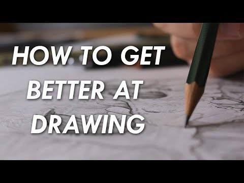 How to get BETTER at DRAWING! - 6 things you NEED to know. 1