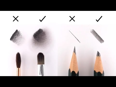 10 EASY Tips to IMPROVE your DRAWING (Great for Realistic Portrait Drawing) 1