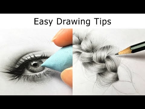 10 Drawing TIPS for Beginners - Get BETTER at Drawing IMMEDIATELY! 1