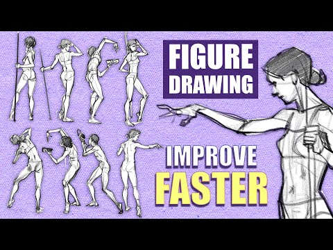 5 CRUCIAL TIPS TO IMPROVE DRAWING ANATOMY ★ [ FIGURE STUDIES ] 1