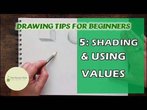 Drawing Tips for Beginners 5 | Value and Shading 1