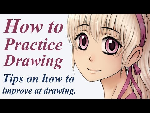 How to Practice Drawing: Tips on how to improve at drawing 1
