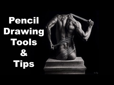 Drawing tools and tips for hyper realistic drawing 1