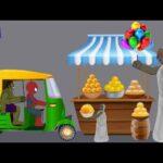 Granny vs Spiderman, Hulk Besan Ladoo Funny Animation - Drawing Cartoons 2 2