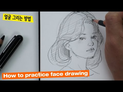 How to draw a face / You need to get used to the first step :) 1
