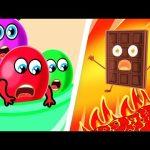 Colorful Candies Rescue Team. Color Songs | Lion Family | Cartoon for Kids 1