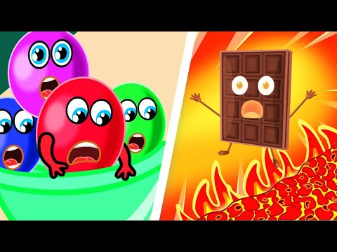 Colorful Candies Rescue Team. Color Songs   Lion Family   Cartoon for Kids 1