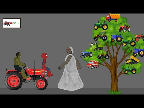 Granny vs Spiderman, Hulk Funny Animations Part 7 - Drawing Cartoon 2 1