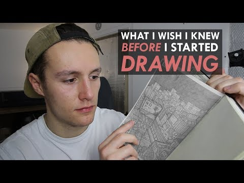 What I WISH I knew when I started DRAWING 1