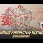 Common Perspective Mistakes - Artist Drawing tips 3