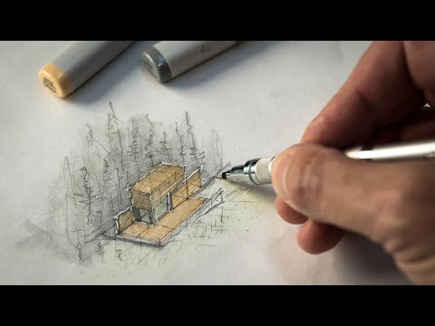 Sketch like an Architect (Techniques + Tips from a Real Project) 1