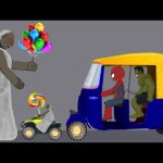 Granny vs Spiderman, hulk Rickshaw Funny Animation Part 9 - Drawing Cartoons 2 3