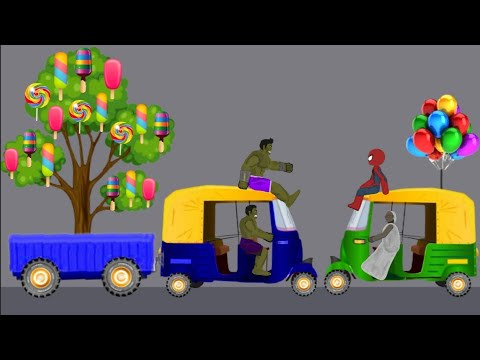 Granny vs Spiderman, Hulk Funny Animation Part 7 - Drawing Cartoons 2 1