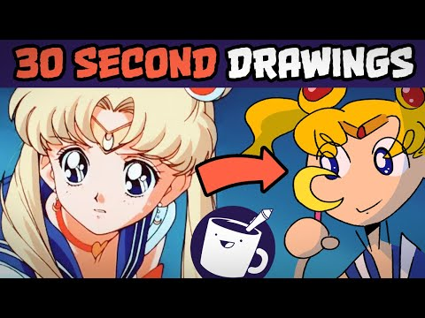 Drawing Cartoon Characters In 30 Seconds 1