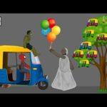 Granny vs Spiderman, Hulk Funny Animation Part 12 - Drawing Cartoon 2 3