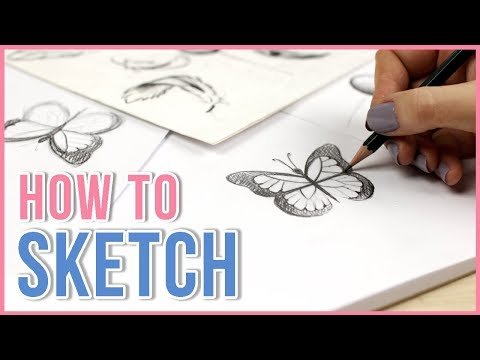 How to Sketch | Sketching Tips for Beginners | Art Journal Thursday Ep. 21 1
