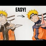 8 AWESOME TIPS & TRICKS TO IMPROVE YOUR DRAWING - Naruto 2