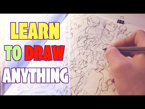 The Fastest Way To Get Better At Drawing! - How To Draw 1