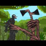 Siren Head vs Venom - Drawing cartoons 2 2