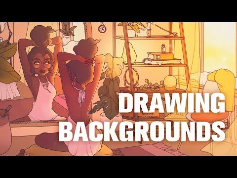 some tips on drawing backgrounds 1