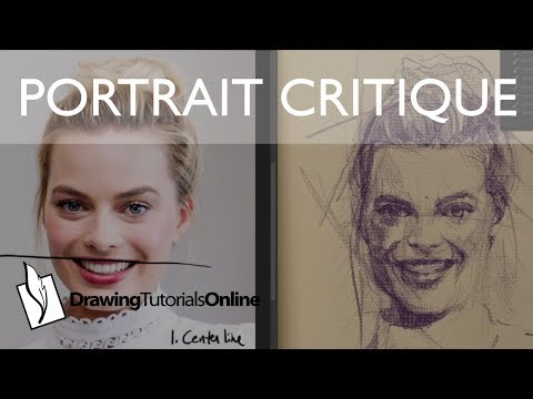 Five Tips For Drawing A Portrait Likeness 1